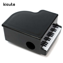 KiCute New Arrival Plastic Piano Shape Small Pencil Sharpeners Music Stationery For Kids Children School Supplies Gift