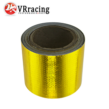 "VR RACING - 2""x5 Meter Aluminum Reinforced Tape Adhesive Backed Heat Shield Resistant Wrap Intake VR1613"