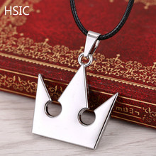 Buy HSIC 10PCS.LOT Hot Game Kingdom Hearts Metal Necklace Crown Shape Pendant Cosplay Accessories Jewelry Gift Men Women 603 for $13.68 in AliExpress store