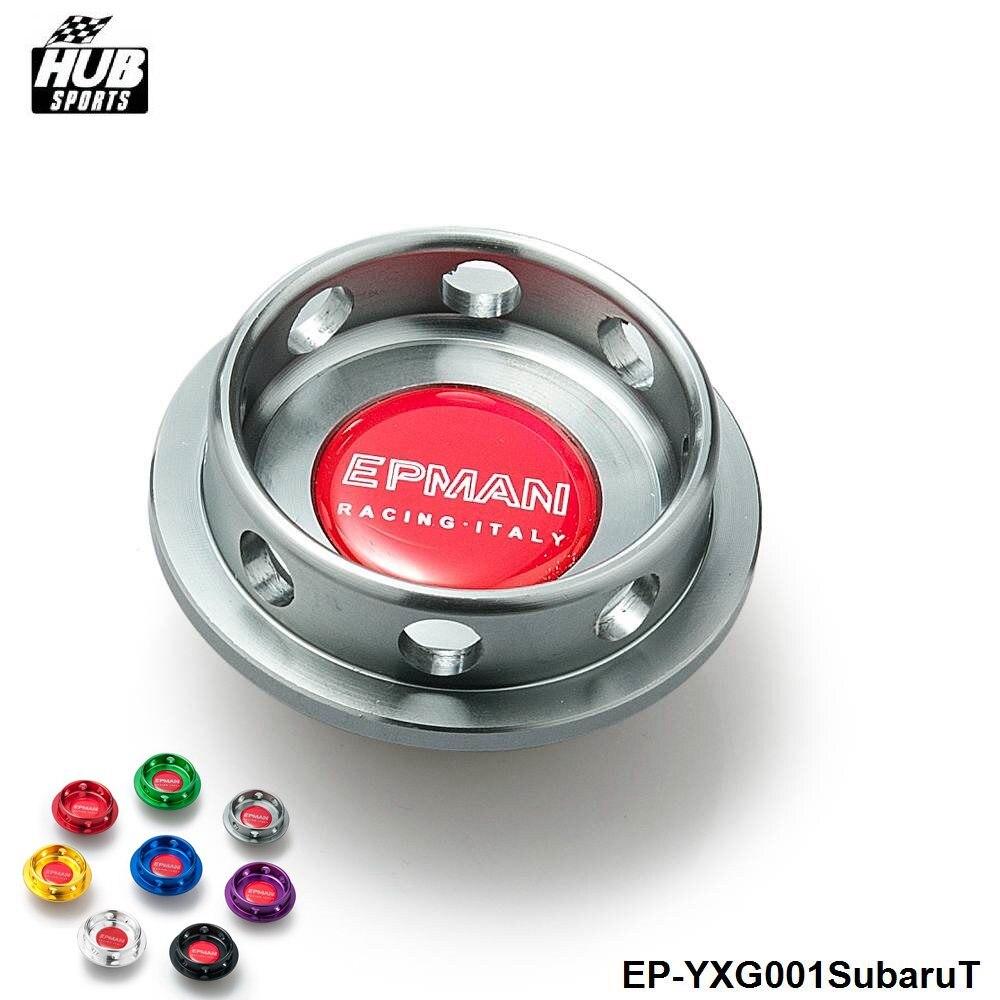 Hubsports - BRAND NEW EPMAN Limited Edition Billet Engine Oil Filter Cap For SUBARU HU-YXG001SubaruT