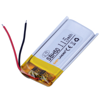 Easylander replacement 3.7V 115mAh Li-Polymer Li-ion Battery For SONY SBH50 SBH-50 bluetooth headset(China)