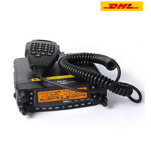 (DHL Shipping) Newest 1709A TYT TH-9800 Plus (Updated) Quad Band Mobile Radio Dual Display Car Transceiver Walkie Talkie(China)