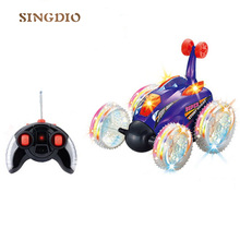 Buy Electric RC Toys Remote control stunt dump truck remote control Stunt mini car 360 degree rotating for $18.14 in AliExpress store
