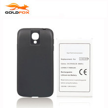 Goldfox High Capacity 7600mah Replacement Battery For Samsung Galaxy S4 i9500 NFC Battery with Cover Phone Extend Battery(China)