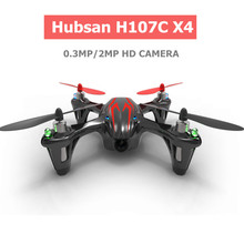 Hubsan H107C X4 Quadrocopter Drone with Camera hd Profissional Dron Remote Control Helicopter Hubsan Quadcopter(China)