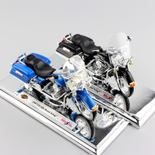 1:18 Scale Children Harley 1997 1999 FLHR Road King Diecast metal model motorcycle Cruiser vehicles motorbike toys for kids 2017(China)