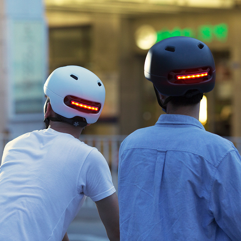 Xiaomi Smart4u Bicycle Smart Flash Half Helmets (6)
