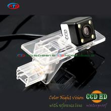 CCD with LEDS night vision Car Rear View Camera for Renault Fluence 2013 2014 Reverse Backup Parking Kit Free Shipping(China)