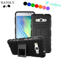 HATOLY Cover Samsung Galaxy A3 Case Hard Rubber Silicone Phone 2015 A300F - Official Store store