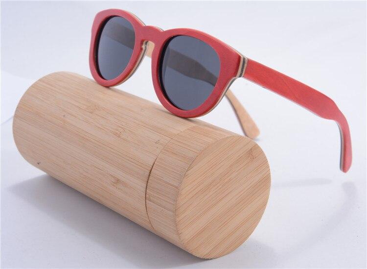 SHINU brand  Wood Sun Glasses Red Sunglasses Fashion new Famous Brand Designer Oculos De Sol z68022<br><br>Aliexpress