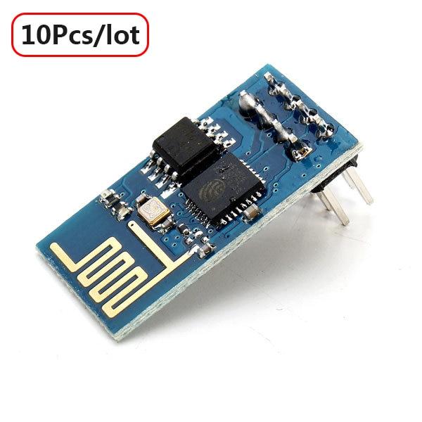 10pcs/lot 2016 New ESP8266 ESP-01 Remote Serial Port WIFI Transceiver Wireless Module For Arduino WI-FI Free Shipping<br><br>Aliexpress