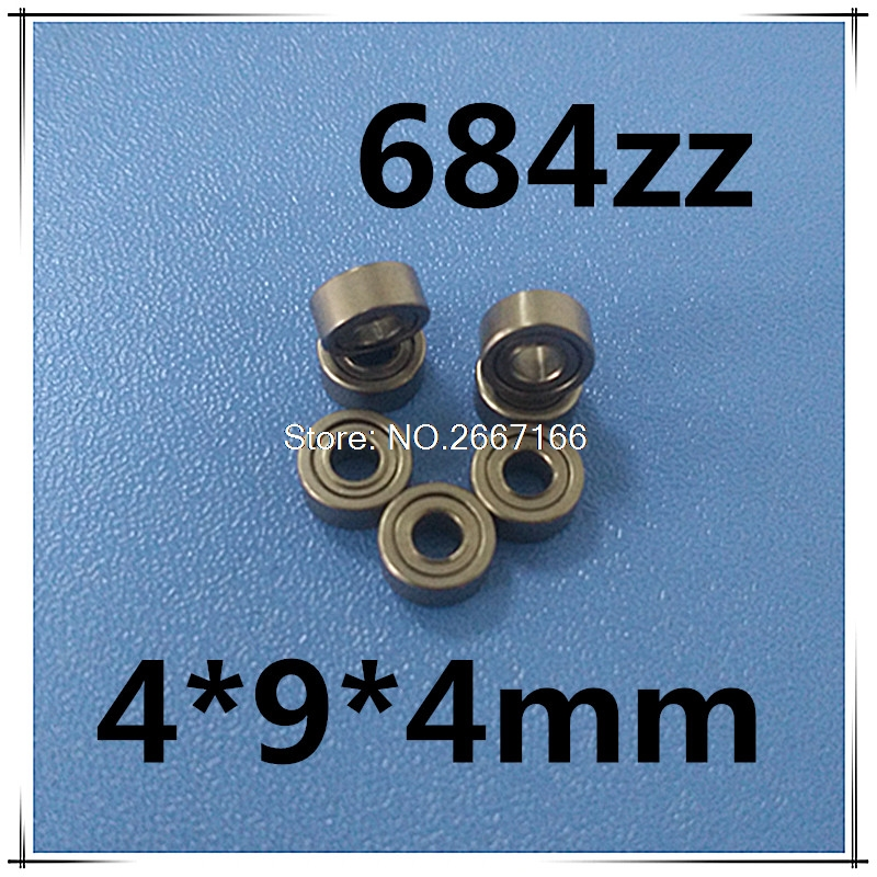 10 PCS free shipping thin wall deep groove ball bearing 684ZZ 4*9*4 mm ABEC-5<br><br>Aliexpress