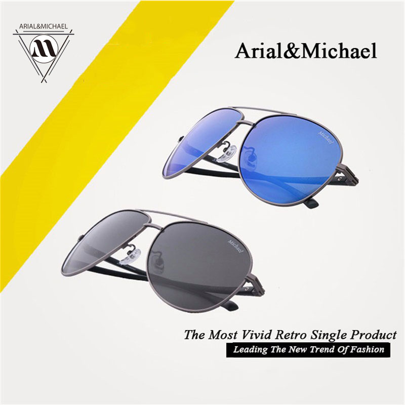 AM original authentic new UV ultra-light driver driving mirror polarizing rimless sunglasses<br><br>Aliexpress