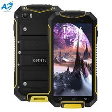 4.5 Inch Original Android 7.0 GEOTEL A1 Mobile Phone 3G Smartphone MTK6580 1.3GHz Quad Core 1G+8G IP67 Waterproof Dustproof Cell(China)