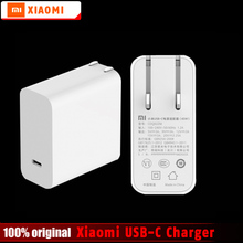 Buy Original Xiaomi Mi USB-C Charger 45W Max Smart Output Type-C Port Adapter USB PD 2.0 Quick Charge QC 3.0 Gift Cable for $19.99 in AliExpress store