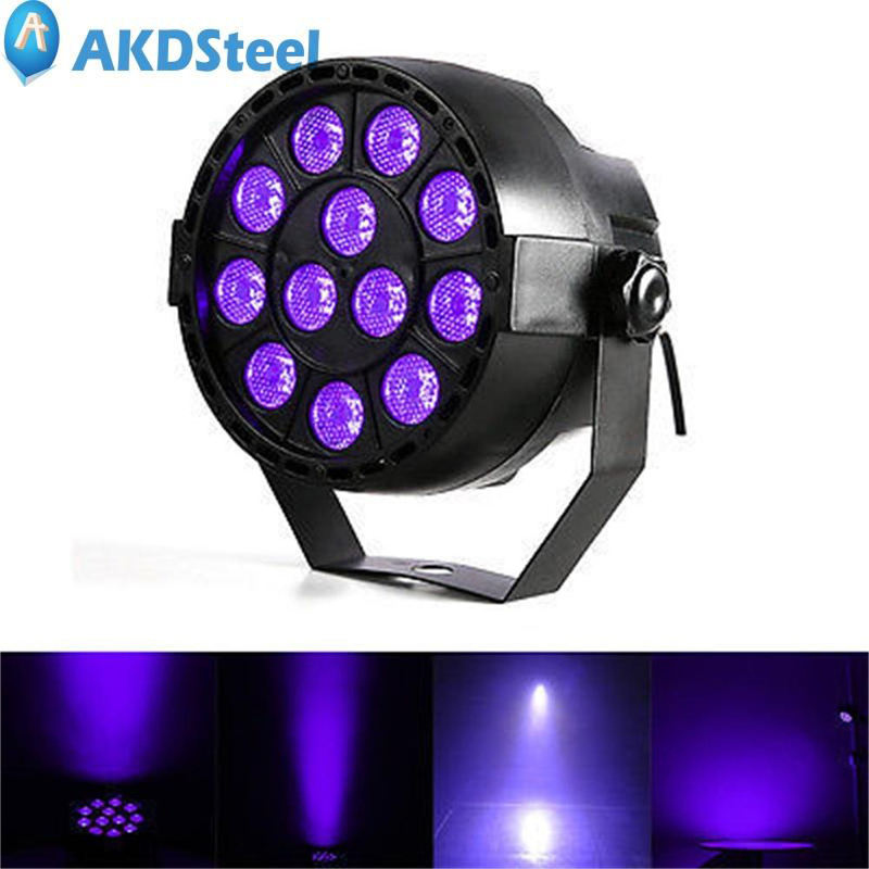 AKDSteel 36W US Plug 12LED Party Light Portable Stage Lamp Disco Light for Party KTV Club 5<br>