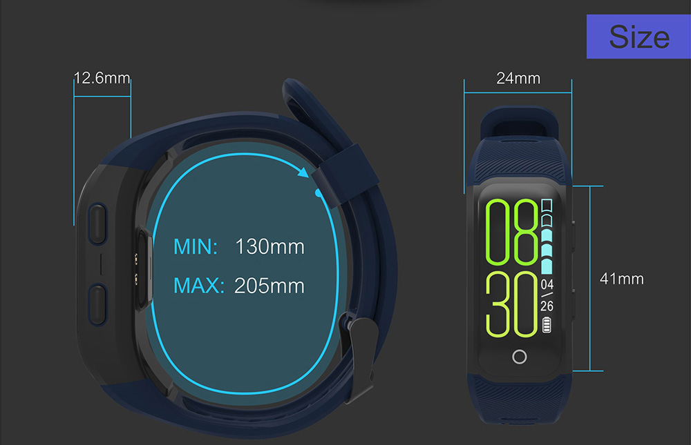 GPS Smart Band with Heart Rate Tracker 16