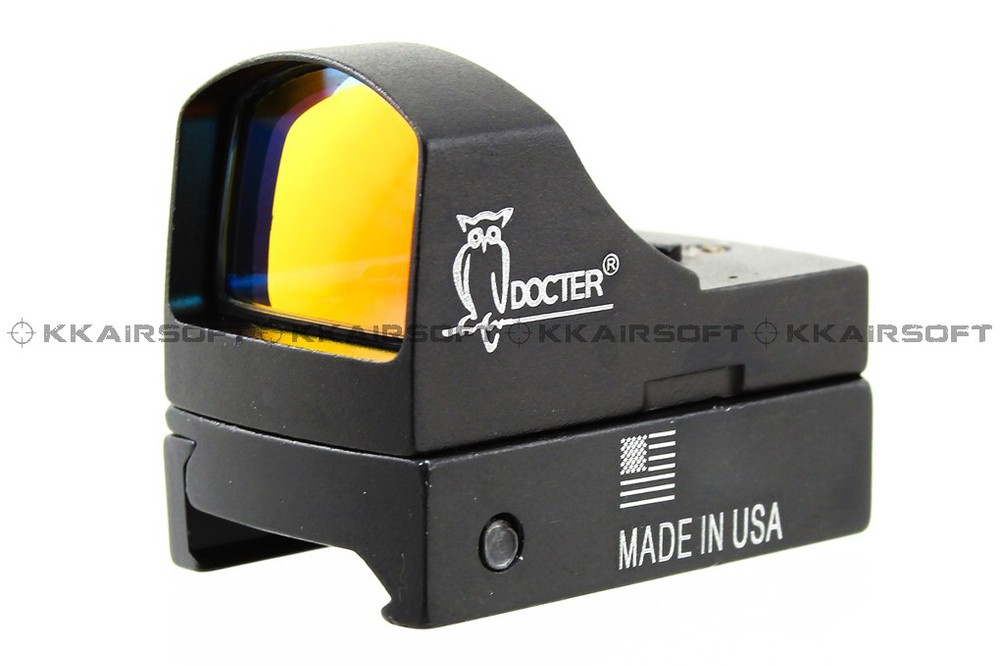 3 MOA mini red dot reflex sight with ON/OFF switch for ACOG<br>
