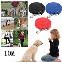 Pet Dog Training Harness Leash Collar Supplies 10M Lead Strap Cat Puppy Mascotas Cachorro Chien Perros Honden Hond(China)