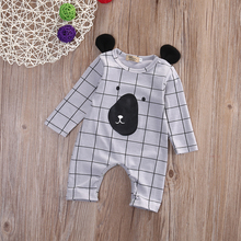 Newborn Winter Rompers 2016 Cute Toddler Baby Girl Boy Bear Jumpers Rompers Playsuit Outfits Clothes 0-24M One-piece Costume
