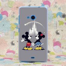 388HJ For Mickey Minnie Mouse Cartoon Hard Case Cover for Nokia Microsoft Lumia 535 630 640 640XL 730