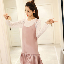 New Spring Women dress Spaghetti Strap Solid Slim Sexy Pleated Place Dresses Pink Green Black Pale Pinkish Grey 215