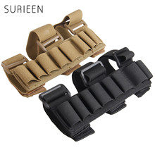 SURIEEN Tactical Hunting 8 Rounds Ammo Gauge Gun Shell Holder Carrier Manga Shooter's Forearm Sleeve Mag Magazine Pouch Holster