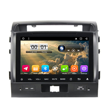 OTOJETA autoradio 2GB ram+32GB rom Android 6.0.1 car dvd player fit for toyota landcruiser lc200 land cruiser gps tape recorder(China)