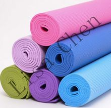 6mm non slip yoga mat PVC yoga mat thickening Yoga Fitness pad tasteless easy to carry