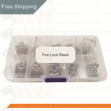 FREE SHIPPING Auto Lock Core Key Repair Accessories 200PCS Car Lock Reed Lock Plate For Ford Focus FIESTA ECOSPORT HU101