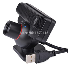 Custom Official for Sony Play Station 3 Camera Eye Motion Sensor Cam with Mic Black for PS3 Games Move System