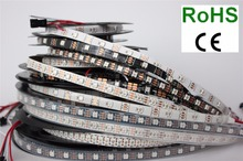 1m/5m WS2812B 30/60/144 pixels/leds/m Smart led pixel strip,Black/White PCB,WS2812 IC;WS2812B/M ,IP30/IP65/IP67 DC5V