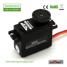 10pcs/lot DM-S1306MD 56g/0.16s/13.5kg.cm metal gear robot used 13kg digital 360 degree continuous rotation servo