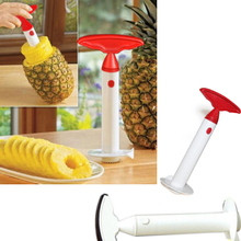 New Useful Fruit Corer Slicers Pineapples Peeler Easy Slicer Peeling Knife Cutter Kitchen Easy Tools Ananas Knife Hot Sale