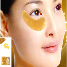 30pcs(15pair) LISITA NEW Brand Gold Crystal collagen Eye Mask Hotsale eye patches Eye Anti-Wrinkle Remove Black Eye Face Care