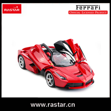 Rastar Licensed RC CAR Ferrari LaFerrari with usb opened door car by remote controller 1:14 scale kids toy 50160(China)