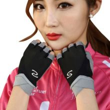 Buy Outdoor Men Women Climbing Gloves Cycling Gloves Half Finger Summer Sports Fitness Shockproof Bike Glove for $3.72 in AliExpress store