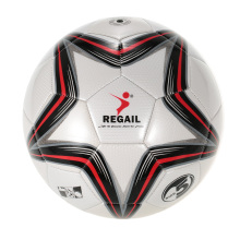 REGAIL 5-point Star Soccer Game Training Soccer PU Inflatable Football Synthetic Leather Soft Touch Soccer for Younger Teenager(China)