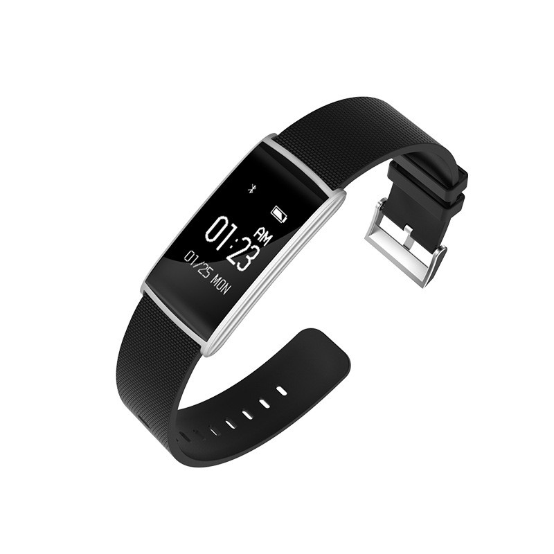 Fitness Tracker Smart Bracelet Blood Pressure Blood Oxygen Heart Rate Fatigue Monitor Wristband Sports Smartband for Phones 24