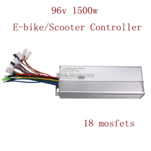18 Mosfets 96V 1500W Brushless Hub Motor Controller for E-bike Electric Bicycle Scooter