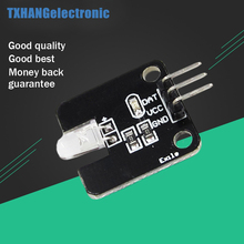 Infrared Emission Module IR Transmitter Module For Arduino Electronic Blocks w/ Led 5V(China)