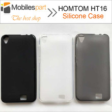 HOMTOM HT16 Case Protector Matte TPU Silicone Back Cover Pro Smartphone - Mobilespart Technology Co., Ltd store