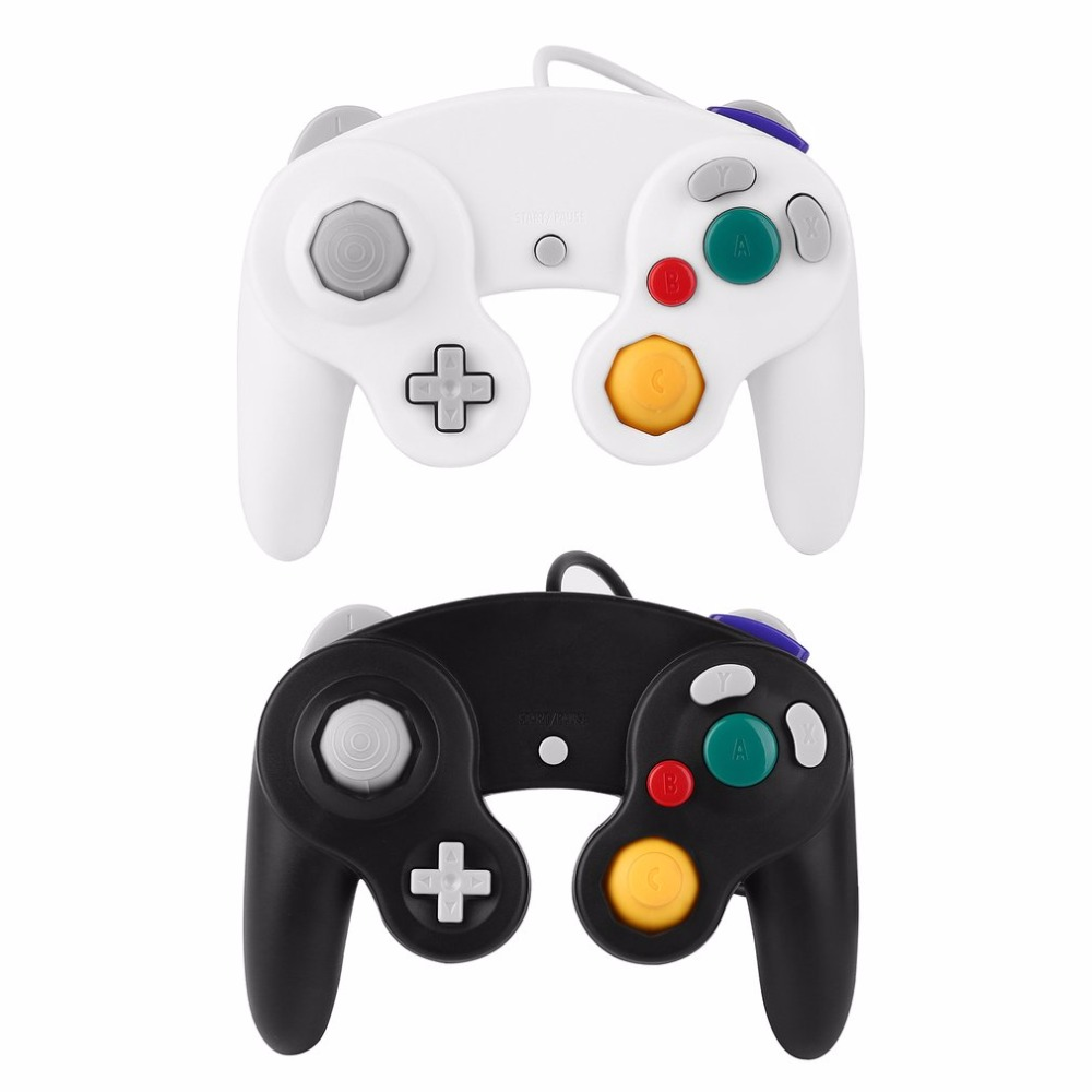 1-Pc-Wired-Game-Shock-JoyPad-Vibration-For-Nintendo-for-Wii-GameCube-for-NGC-Controller-for