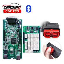 2017 New CDP TCS Pro Plus Bluetooth 2015.3 with keygen for CAR/TRUCK/Generic OBD2 OBDII Diagnostic Tool as Multidiag pro mvd