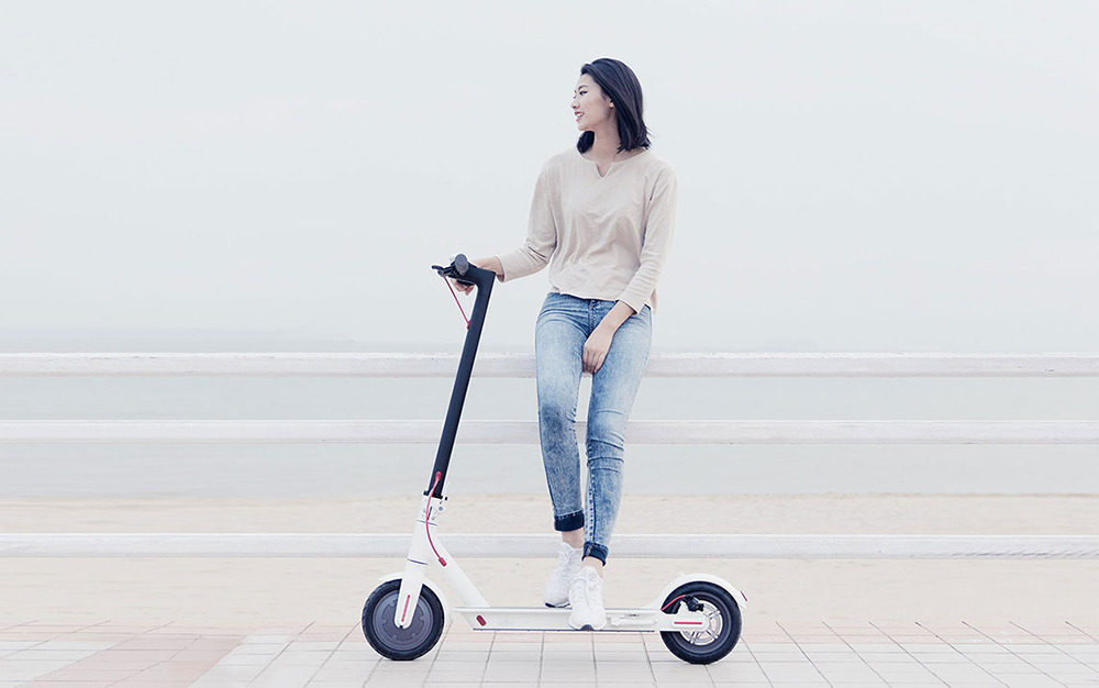 Original Xiaomi Scooter Mijia 2 Wheels Smart Electric Scooter Skate Board Adult Mini Foldable Bike Hoverboard 30km with APP 27