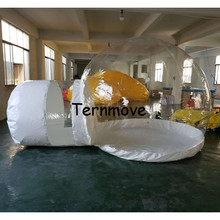 inflatable unique camping tents,inflatable lawn luxury tents,inflatable projection air dome event tent,wedding party tent(China)