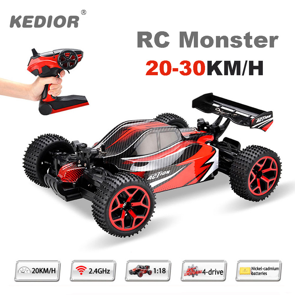 1:18 Remote Control Car Auto Radio Control 4wd RC Drift High Speed Model Toys with Rechargeable Battery VS WL A959<br>