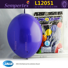 "Columbia imported 12"" violet wedding link balloons.Columbia Sempertex brand party balloon.100pcs/bag"