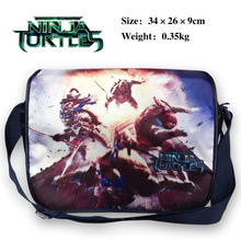 2017 Teenage Mutant Ninja Turtles TMNT Messenger Shoulder School Bag For Students Kids Children Boys Girls Canvas Bags