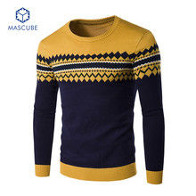 New Autumn Fashion Brand Men Sweaters Pullovers Knitted Long Sleeve Thick Warm Designer Slim Fit Casual Man Knitwear sudaderas
